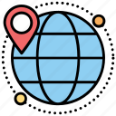 address marker, geolocation, global locationing system, gps, navigator icon