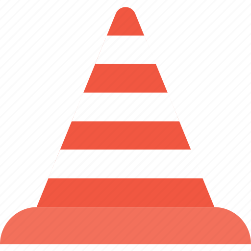 construction cone, road boundary, road sign, traffic cone, under construction icon