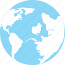 earth, geography, globe, map, world map icon