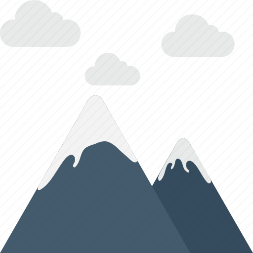 hill, hill station, mountains, rocks, travel icon