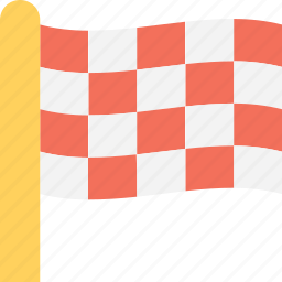 destination flag, ensign, flag, location, sports flag icon