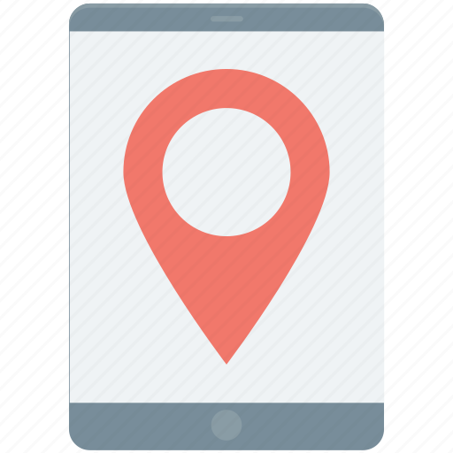 cartography, city map, mobile navigation, online map, smart phone icon