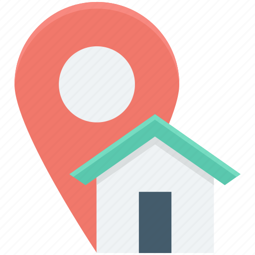 gps, home, house location, map location, navigation icon