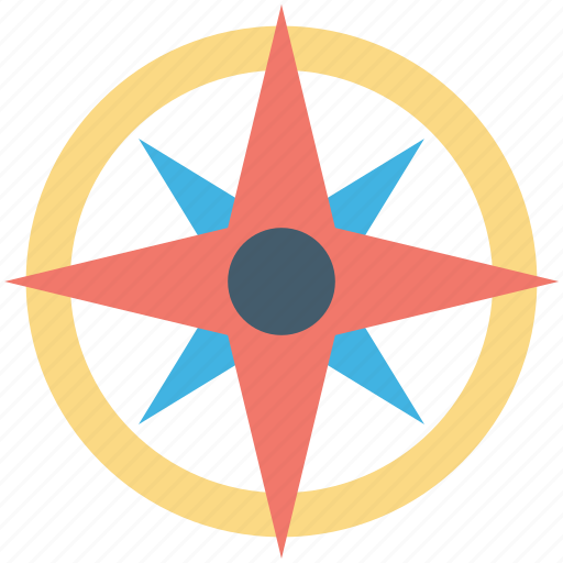 cartography, compass rose, exploration, navigation, wind rose icon
