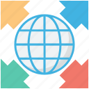 global, internet, planet, world map, worldwide icon