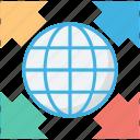 global, internet, planet, world map, worldwide