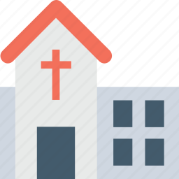 building, chapel, church, religious, temple icon