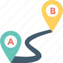 distance, gps, location, location finder, travel distance