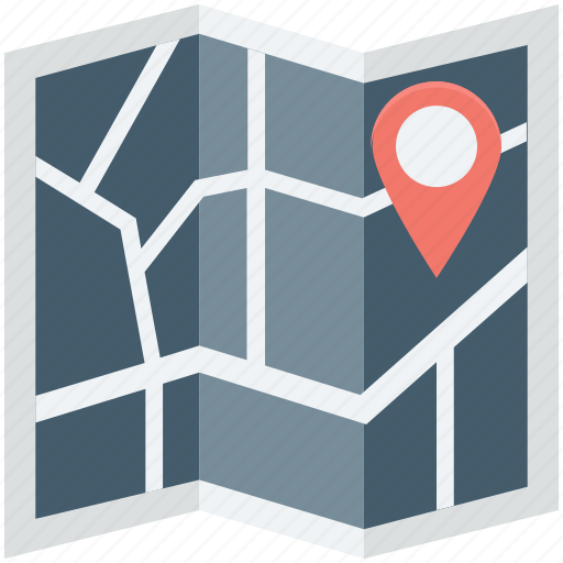 gps, location, location pins, map, navigation icon