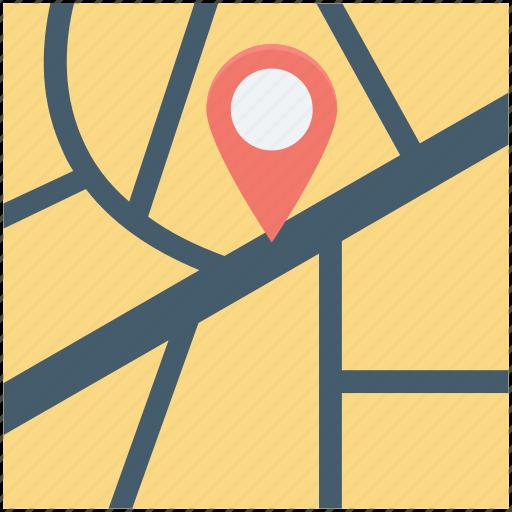gps, location, location pins, map, navigation icon