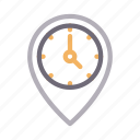 location, map, marker, pin, stopwatch