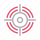 crosshair, focus, location, map, target