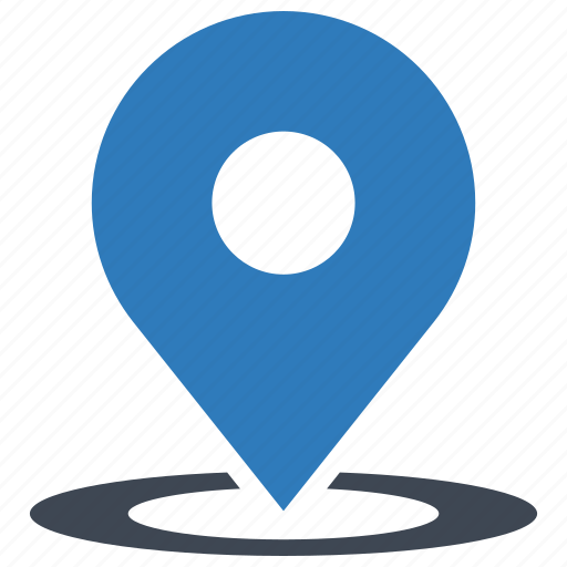 location, map, tracking icon