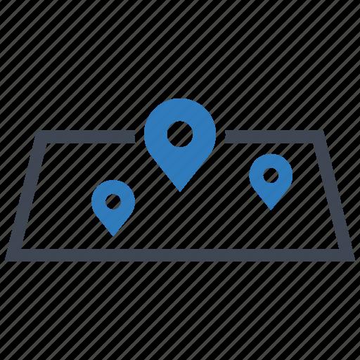 gps, map, navigation icon