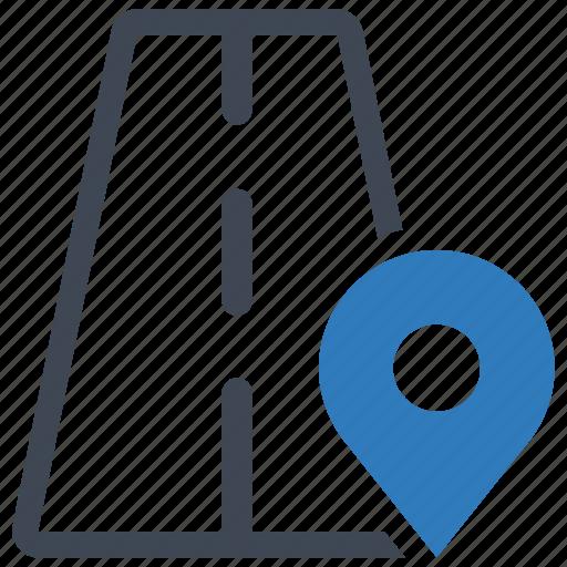map, navigation, road icon