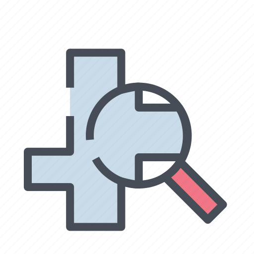 dirrection, gps, location, map, navigation, road, search address icon
