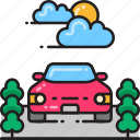 car, park, transport, transportation, vehicle icon