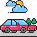 automobile, car, drive, driving, transport, transportation, vehicle icon