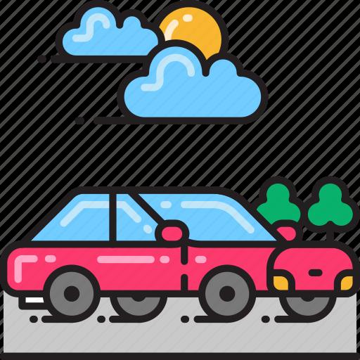 automobile, car, drive, driving, transport, transportation, vehicle icon