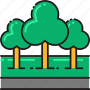 ecology, forest, green, jungle, nature, park, trees icon