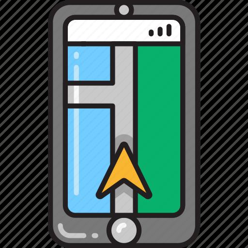 app, direction, gps, map, maps, navigation, navigator icon