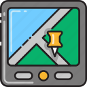 gps, location, map, marker, navigation, navigator, pin icon