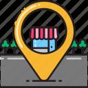 business, commerce, destination, ecommerce, shop, shopping, store icon