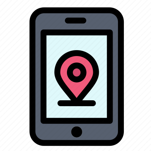 Internet, location, mobile icon - Download on Iconfinder