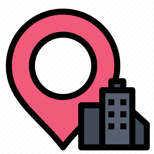 Building, hotel, location icon - Download on Iconfinder