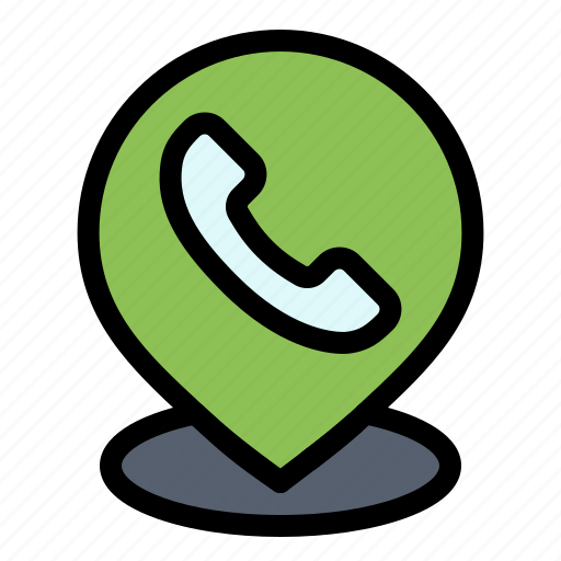 Location, map, phone, telephone icon - Download on Iconfinder