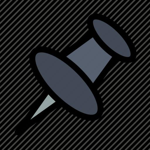 mark, marker, pin icon
