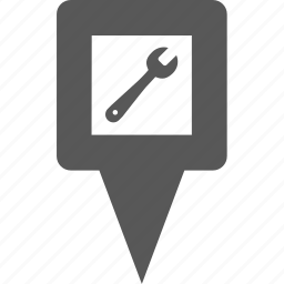 location, marker, pin, place, point, pointer, setting icon