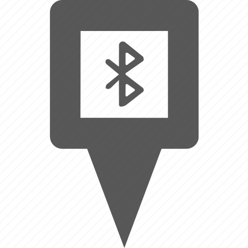 bluetooth, connect, marker, mobile, pin, point, signal icon