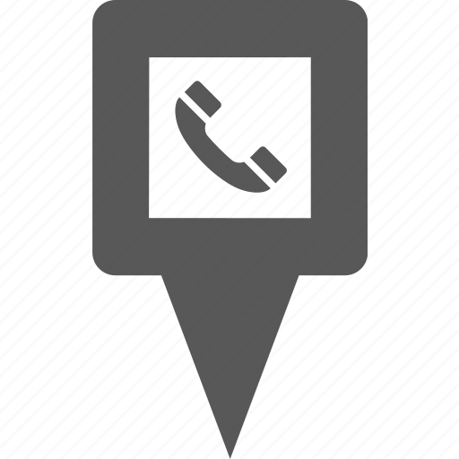 help, location, phone, pin, place, talk, telephone icon