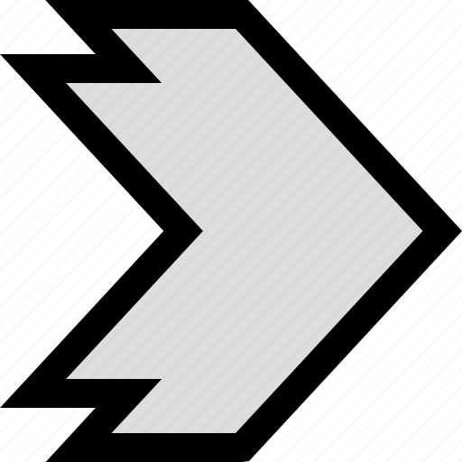 arrow, go, point, pointing icon