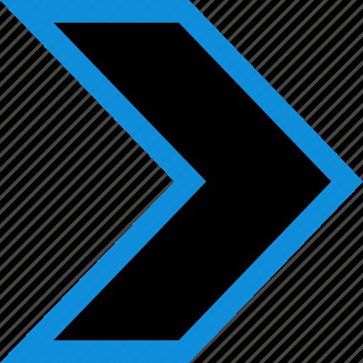 arrow, forward, point, pointer icon