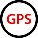 gps, locate, location, pin icon