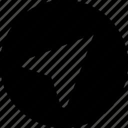 circle, me, near icon
