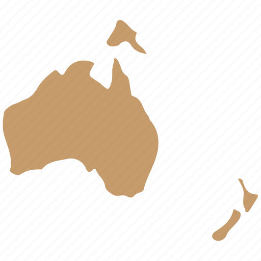 Australia Country Map.Maps By Deadesign