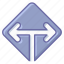 arrow, direction, location, map, navigation, pin icon