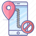 block, location, map, mobile, navigation, pin icon