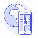 app, application, destination, flag, gps, location, map, navigation, phone, pin, smartphone