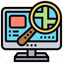 find, location, place, searching, tracking icon