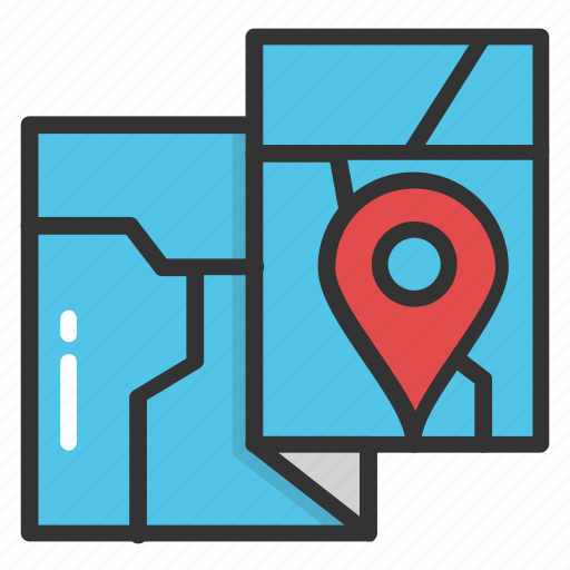 gps, location pin, location pointer, map, navigation icon