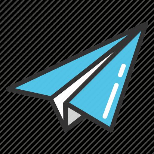 handmade paper plane, origami plane, paper airplane, paper jet, paper plane icon