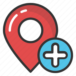 add location, map pin, map placeholder, map pointer, map position icon