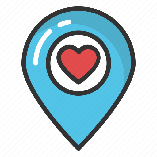 destination, favorite location pin, gps, gps navigation, traveling concept icon