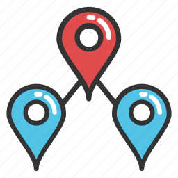 location finder, location pin, map locator, map marker, map pin icon