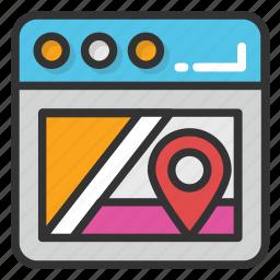 gps navigation software, navigation software, navigation website, online navigation icon