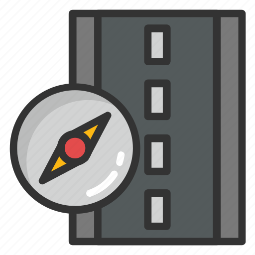 driving navigation, navigations, road compass, road directions, road tracking icon